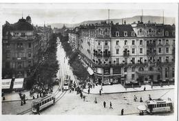 ZÜRICH → Bahnhofstrasse Mit Tram Und Vielen Passanten Anno 1924 - ZH Zurich