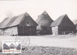1954745Orvelte, Drente. 1975 (foto Rijksdienst V.d. Monumentenzorg) (Maximum Kaart.) - Cartes-Maximum (CM)
