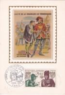1954755Paris 8 Nov. 1969. Louis XI Et Charles Le Temeraire. (Maximum Card.) - Cartes-Maximum