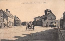 ¤¤  -   BARNEVILLE-sur-MER    -  Place Du Marché   -  L'Eglise      -   ¤¤ - Barneville