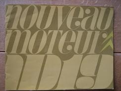 Beau Catalogue Publicitaire De 1966 CITROËN ID 19 - Voitures