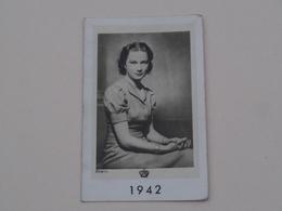 1942 Rhein ( Edit. Kunst L.A.B. Brussel ) ! - Calendarios