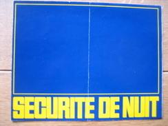 Dépliant Publicitaire De 1967 CITROEN DS à éclairage PALLAS : Visibilité Intégrale, Sécurité De Nuit - Voitures