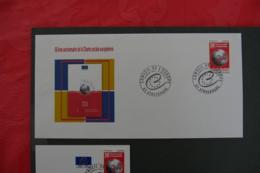 FRANCE - 2011 - PJ  SERVICE 150 - CONSEIL DE L EUROPE - FDC
