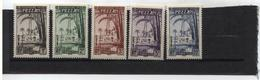 Timbres Taxe N° 6 à 9 + 11 Neufs Sans Charnière - Fezzan (1943-1951)