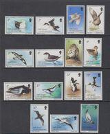 South Georgia 1987 Definitives / Birds 15v ** Mnh (42130) - Zuid-Georgia