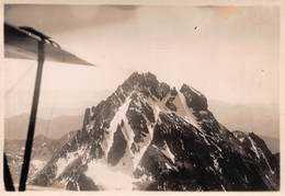 "0905 ""MON VISO - FOTOGRAFIA DA AEREO - CIRCA 1930"" ORIGINALE - Lieux"