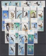 South Georgia 1987 Definitives / Birds 15v (pair) ** Mnh (42130B) - Zuid-Georgia