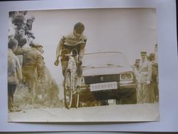 Cyclisme Photo Bernard Thevenet 1970 Mont Faron Premiere Victoire Pro - Radsport