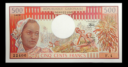 # # # Banknote Gabun 500 Francs UNC # # # - Gabon