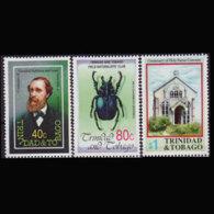 TRINIDAD & TOBACO 1992 - Scott# 539-41 Events Set Of 3 MNH - Trinité & Tobago (1962-...)