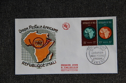 "FDC - MALI, "" Union Postale Africaine  "" - BAMAKO  Le 23 Avril 1962. - Mali (1959-...)"