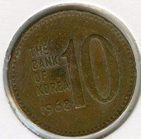 Corée Du Sud South Korea 10 Won 1968 KM 6 - Corée Du Sud