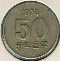 Corée Du Sud South Korea 50 Won 1974 KM 20 - Corée Du Sud