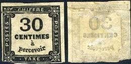 France Taxe, N°6 Neuf*, En L'état - 1859-1955 Mint/hinged