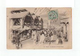 Sur Carte Postale D'Oran Type Blanc CAD Oran 1905. CAD Destination Cette Hérault. (3232) - France (ex-colonies & Protectorats)