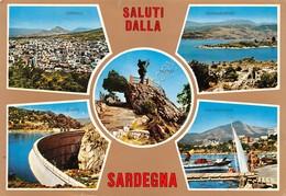Cartolina Sardegna 5 Vedute Dorgali Gavoi Calagonone Gennargentu Nuoro - Nuoro