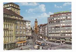 PFORZHEIM N°704/1 Leopoldplatz Mit Bahnhofstrasse VOIR ZOOM Trolley Bus VW Combi PUB Beckh Pilsner - Pforzheim
