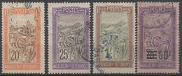 MADAGASCAR__    N°100/108/134/147__ OBL  VOIR SCAN - Madagaskar (1889-1960)
