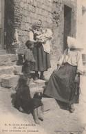 62630 ETAPLES - FEMMEES Avec ENFANTS En 1915 - Etaples