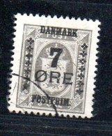 Danemark /  N  175 /  7 Ore Sur 3 Ore Gris  / Oblitéré - Usati