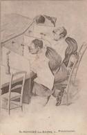 CPA   SAINT HONORE LES BAINS PULVERISATION SIGNE  ECRITE EN 1922 - Humor