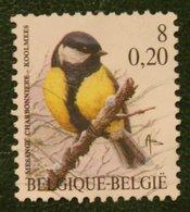 8 Fr/ 0.20 Bird Vogel Oiseau Pajaro Buzin OBC N° 2966 (Mi 3017) 2000 Used Gebruikt Oblitere BELGIE BELGIEN / BELGIUM - Gebraucht