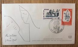 Luxembourg 1960, FDC Année Mondiale Des Réfugiés - Refugees