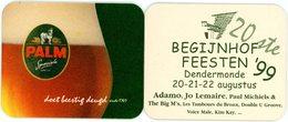 Belgium. Palm Speciale. 20ste Begijnhof Feesten Dendermonde Augustus 1999. Adamo, Jo Lemaire, Paul Michiels, The Big M's - Sous-bocks