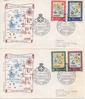 Smom Fdc  1967 - Malta (la Orden De)