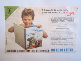 Publicité Buvard Buvards Menier Le Tour Du Monde En 120 Images - Chocolat