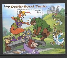Disney Guyana 1999 Robin Hood Train MS MNH - Disney