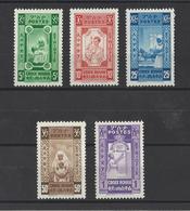 ETHIOPIE.  YT   N° 240/244 (non émis)  Neuf **  1945 - Ethiopie