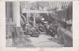 CPA GUERRE RUSSO JAPONAISE En 1904 - 1905  - Une Scène à Bord Du Bateau Cuirassé RUSSE Césarewitch - Guerres - Autres