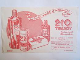 Publicité Buvard Buvards 210 Tranoy Tourcoing Mouscron Tranoy - Parfums & Beauté
