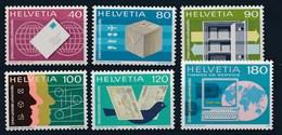 """HELVETIA - Dienstmarken: """"U.P.U.""""  - Mi Nr 11/13 + 14 + 16 - MNH** - Service"""