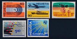 """HELVETIA - Dienstmarken: """"U.I.T.""""  - Mi Nr 11/15 - MNH** - Service"""