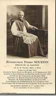 Fair Part  De Déces- De Monseigneur Pierre Sourdin--  Billé --Saint Ouen La Rouerie --Rennes--Pocé Les Bois Chateaubourg - Overlijden
