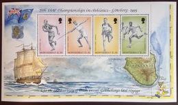 Montserrat 1995 Athletics Sports Sheetlet MNH - Montserrat