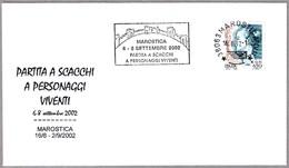 AJEDREZ Con PERONAJES VIVIENTES. Marostica, Vicenza, 2002 - Ajedrez