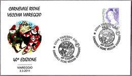 40 Edicion CARNAVAL RIONE VECCHIA. Viareggio, Lucca, 2011 - Carnavales