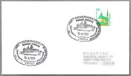 "ROMPEHIELOS POLAR FS ""POLARSTERN"" -  Research Icebreaker. Bremerhaven 1990 - Barcos Polares Y Rompehielos"