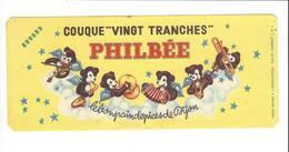 BUVARD  PAIN D EPICES  PHILBEE     ****   RARE  A   SAISIR  **** - Gingerbread