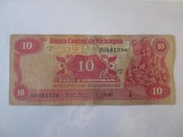 Nicaragua 10 Cordobas 1979 Banknote - Nicaragua
