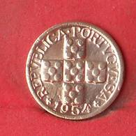 PORTUGAL 10 CENTAVOS 1954 -    KM# 583 - (Nº28072) - Portugal