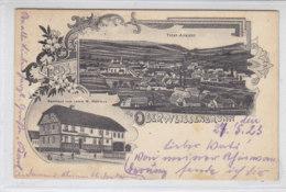 Gruss Aus Oberweissenbrunn - (Bischofheim) GASTHAUS ZUM LAMM - 1923 - Neustadt Waldnaab