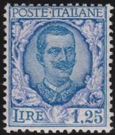Italy     .    Yvert    .     184   .    **            .      MNH   .    /   .    Neuf ** - 1900-44 Vittorio Emanuele III