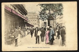 PARIS -Boulevard Des Capucines--CAFE RESTAURANT - Cafés, Hôtels, Restaurants