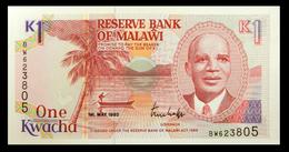 # # # Banknote Malawi 1 Kwacha 1992 UNC # # # - Malawi