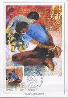 ITALIA - FDC MAXIMUM CARD 1994 - ECCIDIO FOSSE ARDEATINE - ANNULLO SPECIALE - Maximum Cards